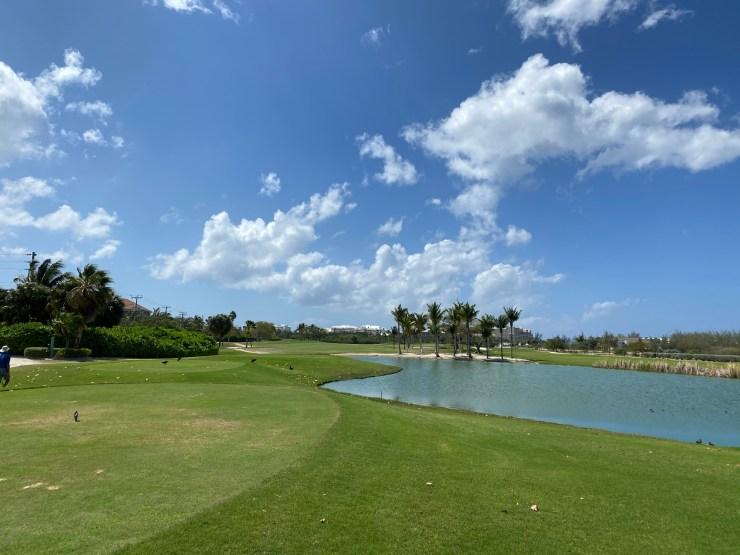 3rd hole at North sound golf club