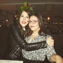 La mia laurea, fontina con Eleonora di zetacomezenzero.blogspot.com