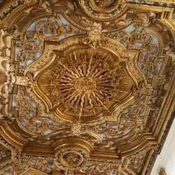 Soffito della Basilica di San Bernardino