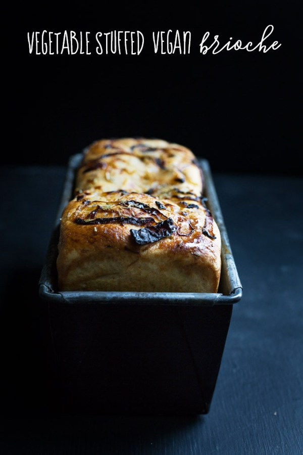 vegetable stuffed vegan brioche 1