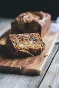 my favourite vegan chocolate banana bread 3