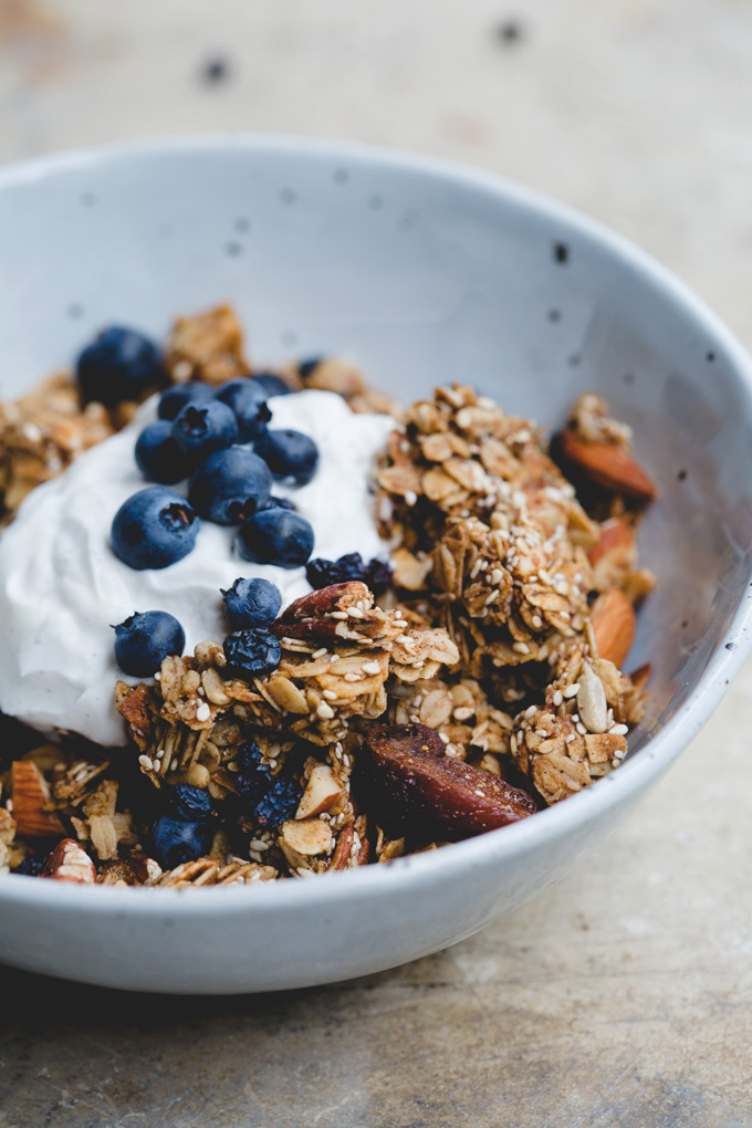 wonderfully chunky toasted sesame granola 8