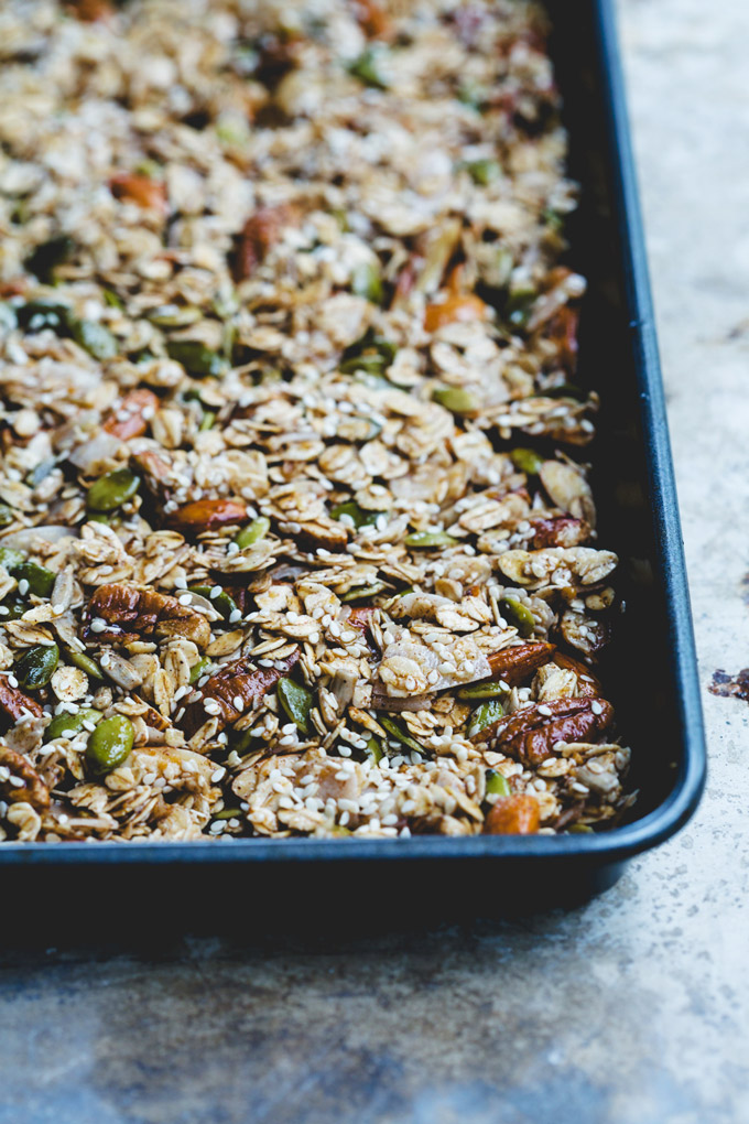 wonderfully chunky toasted sesame granola 3