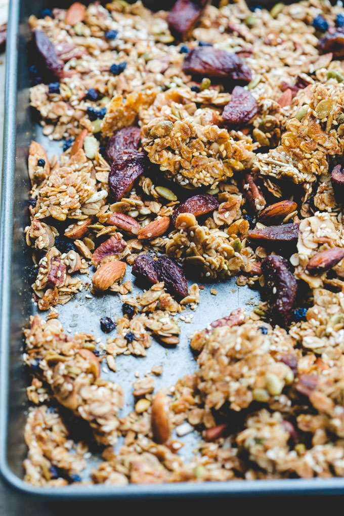 wonderfully chunky toasted sesame granola 7