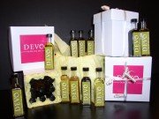 DEVO Extra Virgin Olive Oil and Balsamic Vinegar Sampler Gift Box – 16 Flavors