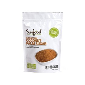 SunFood Coconut Palm Sugar Organic — 1 lb
