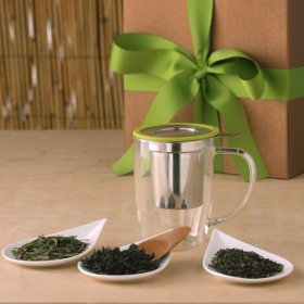 The Fragrant Leaf, Organic Tea Gift Box