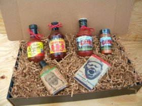 Kansas City Barbecue Sauce KC Combo Pack, Deluxe Gourmet Box Set