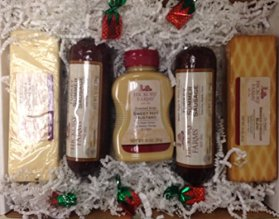 Hickory Farms Deluxe Signature Turkey Summer Sausage & Cheese Gift Box