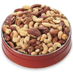 1-lb. Deluxe Mixed Nuts Gift Tin from Wisconsin Cheeseman