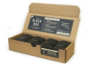 Angels' Cup The Black Box: A Gourmet Coffee Sampler and Blind Tasting Gift Box