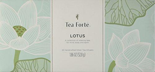 NEW Tea Forte Lotus Presentation Box – 20 Silken Pyramid Infusers