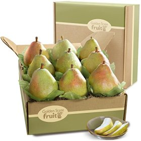 Golden State Fruit Imperial Comice Pears Deluxe Fruit Gift Set
