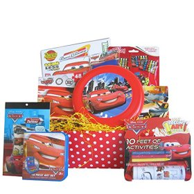 Disney Pixar Gift Basket, Great Get Well, Birthday Gift Baskets for Boys and Girls 3-8