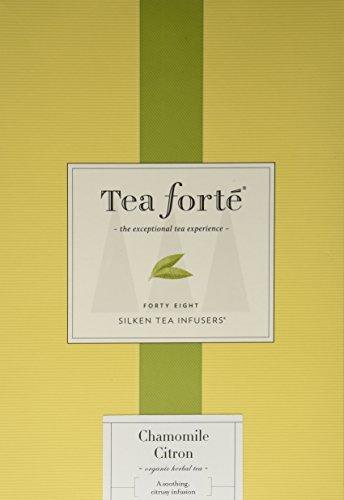 Tea Forte Event Box – 48 Silken Pyramid Infusers – Chamomile Citron
