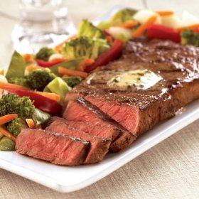 Omaha Steaks 6 (8 oz.) Boneless New York Strips