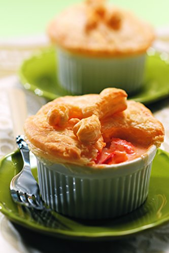 Pemaquid Point Lobster Pot Pies, Four Pies