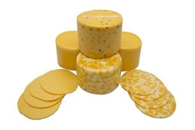 Perfect Partners Wisconsin Colby Cheese Variety Box, 5 Pound (Pack of 4)