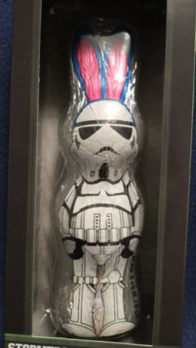 Star Wars Easter Chocolate Bunny Stormtrooper, 4.4 oz