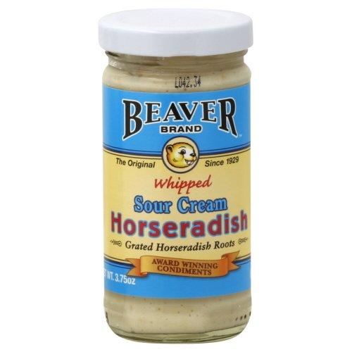 BEAVER Whipped Horseradish 3.75 OZ (Pack of 2)