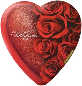 Elmer Celebrate with Chocolate Assorted Chocolates, 6.8 Oz Valentine Heart Box