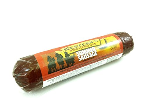 Bricktown Goods – Old Fashioned, Hickory Smoked Summer Sausage – Best Selling Flavor: Original