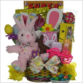 GreatArrivals Gift Baskets Hoppin' Fun Girl Child's Easter Basket, 2 Pound
