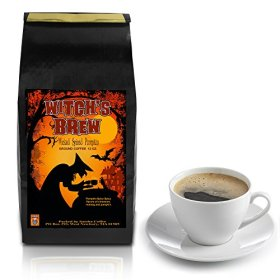Witch's Brew Gourmet Coffee Halloween Special Gifts to Trick or Treat Your Friends. Amazing Scare Artisan Fair Trade Coffee Roasted to Perfection on a Small Batch Roasters – Ground 12oz
