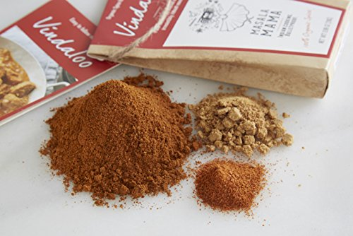 Indian Spice Kit for Vindaloo (Pork or Chicken in Vindaloo Sauce) – Organic Curry Spice Blends by Masala Mama