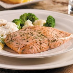 Omaha Steaks 4 (6 oz.) Lemon Dill Salmon Fillets