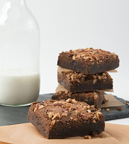 David's Cookies Set of 2 Rocky Road Brownie Dessert Trays