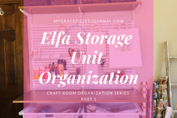 Elfa Storage Unit Organization, Laundry Room, Craft Room