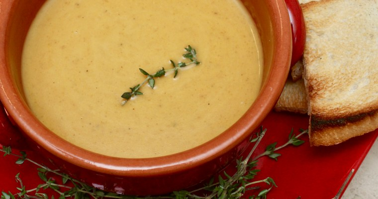 Grilled Butternut Squash Soup