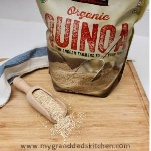Organic Quinoa from Costco.