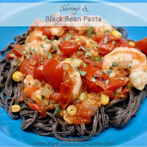 Shrimp & Black Bean Pasta