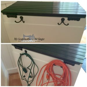 Tool caboodle extension cord storage