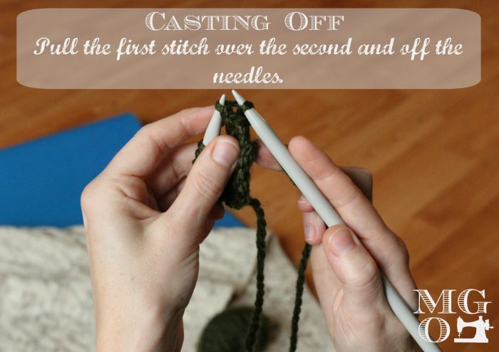 Step 4 - Casting Off