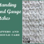 Tension and Gauge Swatches