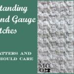 understanding tension and gauge swatches