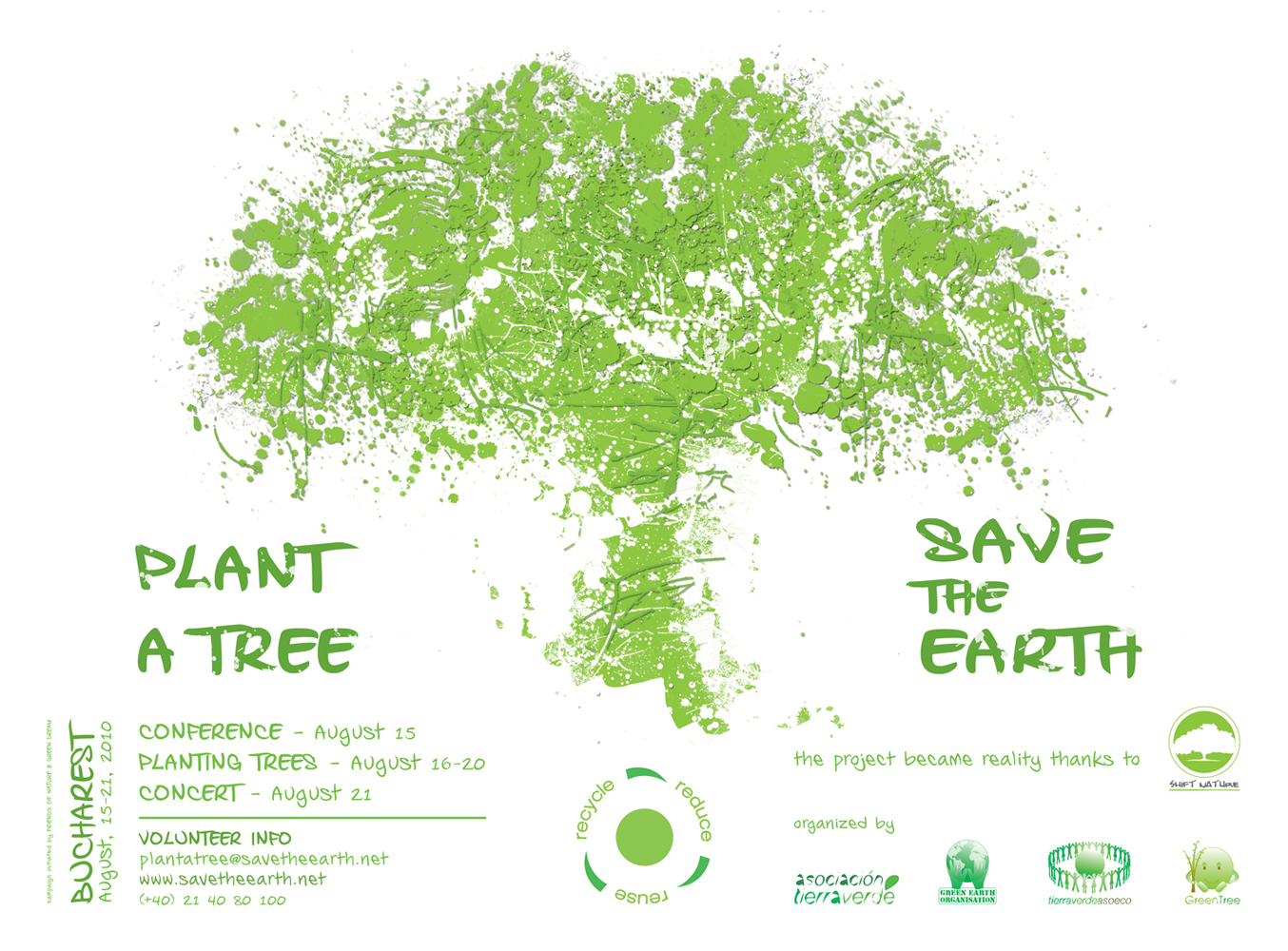Plant A Tree Save The Earth