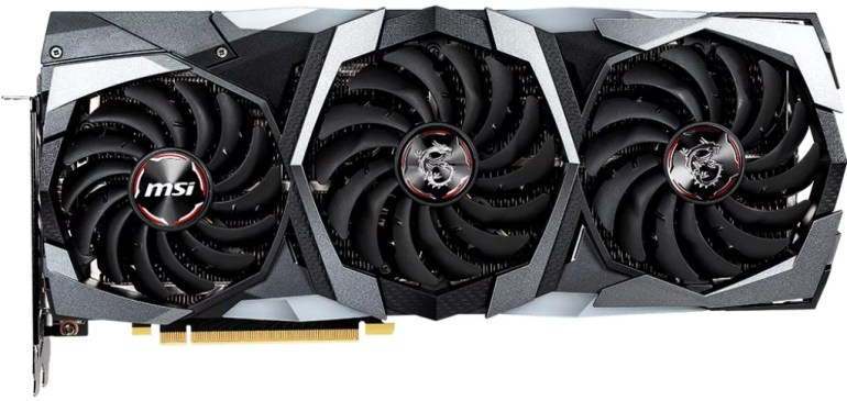 5. MSI GeForce RTX 2080 GAMING TRIO