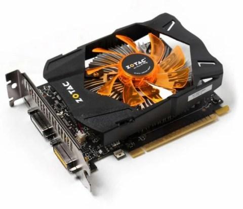 Nvidia Geforce GTX 750 Graphics Cards