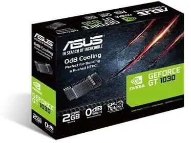 ASUS GeForce GT 1030 2GB GDDR5 Low Profile PCI Express X16