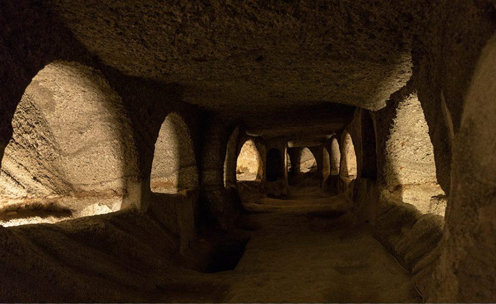 Milos Catacombs