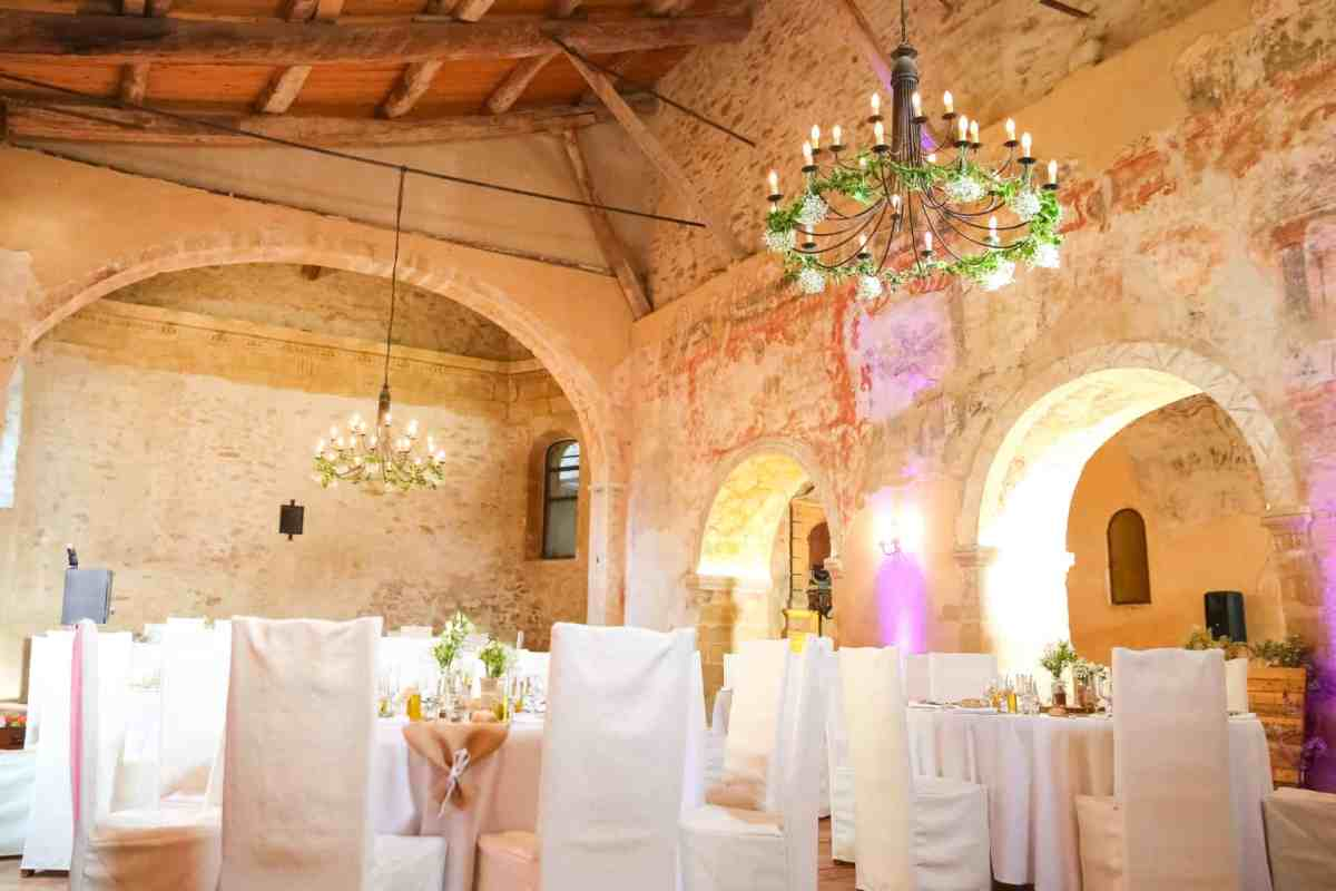 Decoration Chapelle Saint Bacchi Mariage My Green Event
