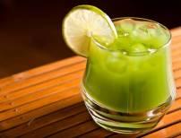 Lemon on Green Juice