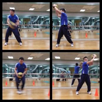 Station 2: Ball Swing