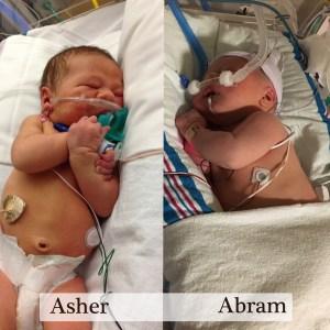 Asher and Abram NICU