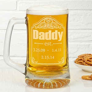 Personalized Beer Mugs - Can This Be Good Gift For Griha Pravesh Let MyGrihaPravesh.com Know