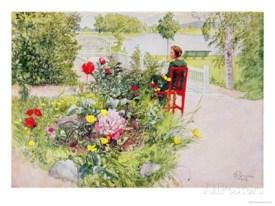 carl-larsson-summer-in-sundborn-1913 - allposters com